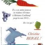 affiche-A4 affiche christine Beigel  RCR 2012