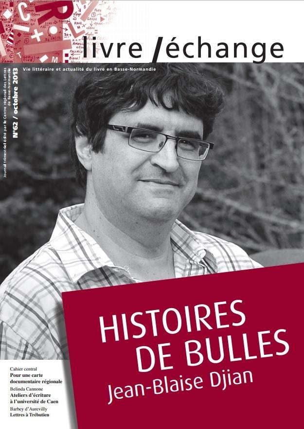 Histoire de Bulles – Jean-Blaise Djian