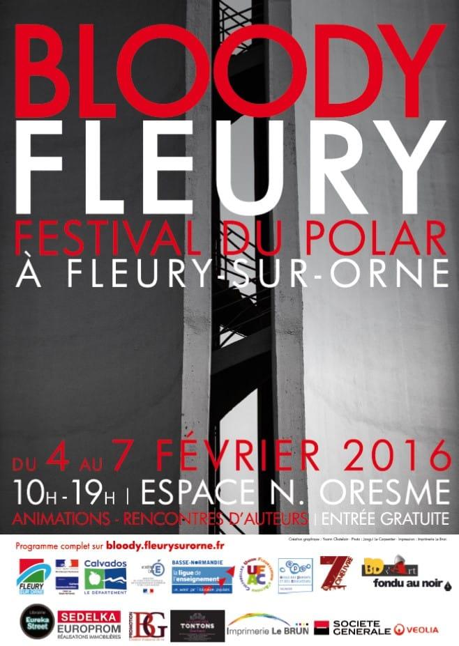 Affiche Bloody Fleury